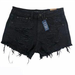 American Eagle Denim Jean Shorts Vintage Hi-Rise